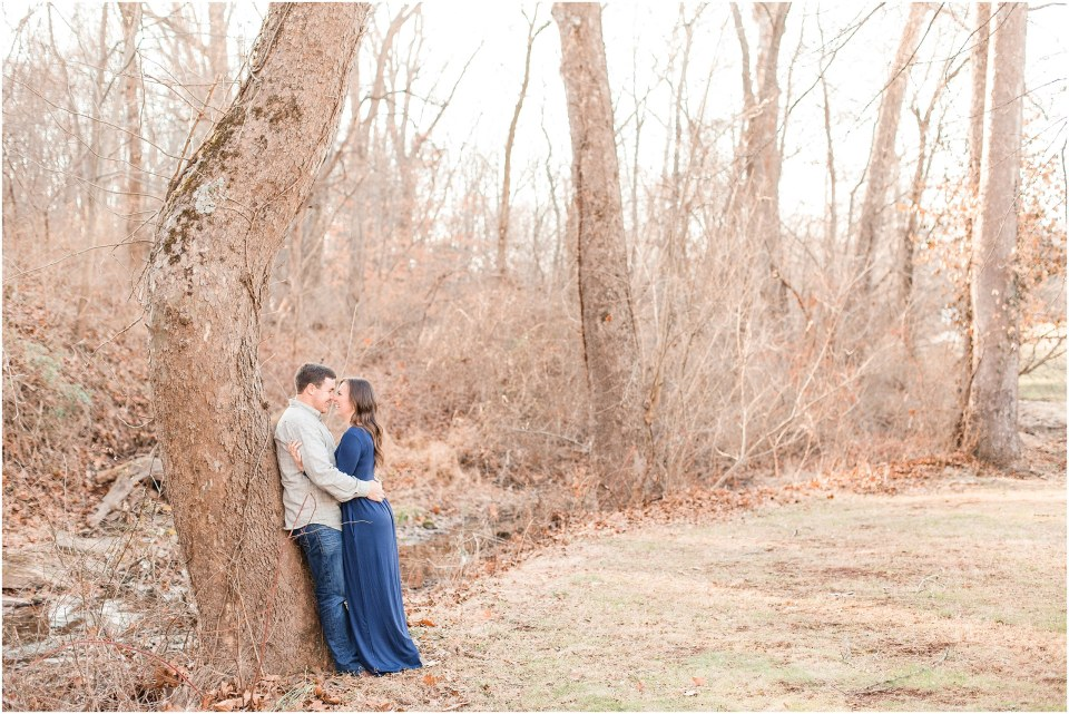 Richie & Kati's Winter Engagement at The Barn On Bridge in Collegeville, PA Photos_0008.jpg