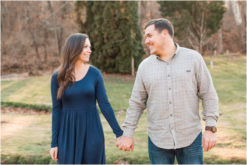 Richie & Kati's Winter Engagement at The Barn On Bridge in Collegeville, PA Photos_0022.jpg