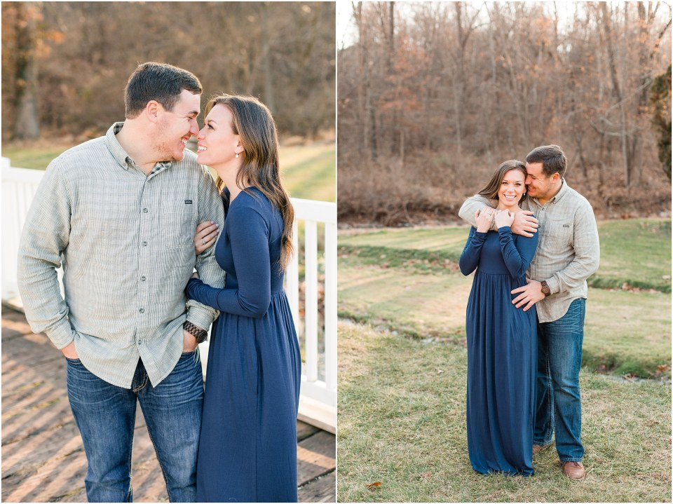 Richie & Kati's Winter Engagement at The Barn On Bridge in Collegeville, PA Photos_0023.jpg