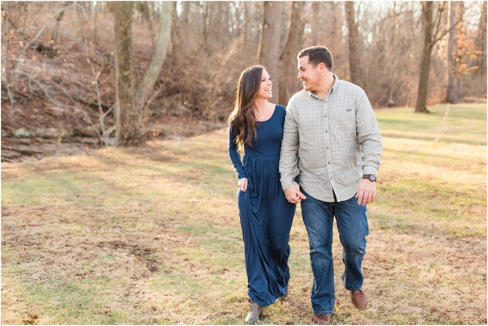 Richie & Kati's Winter Engagement at The Barn On Bridge in Collegeville, PA Photos_0030.jpg
