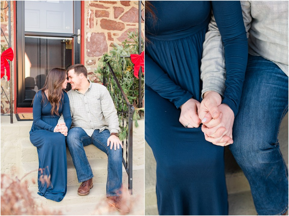 Richie & Kati's Winter Engagement at The Barn On Bridge in Collegeville, PA Photos_0034.jpg
