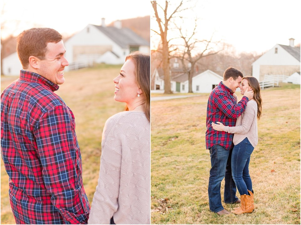Richie & Kati's Winter Engagement at The Barn On Bridge in Collegeville, PA Photos_0037.jpg
