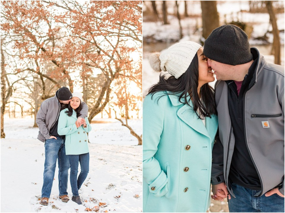 Brad & Mary's Snowy Winter Engagement at Valley Forge Park in Wayne, PA_0011.jpg