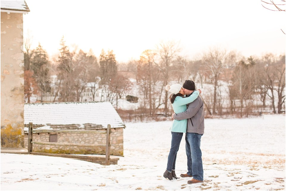 Brad & Mary's Snowy Winter Engagement at Valley Forge Park in Wayne, PA_0018.jpg