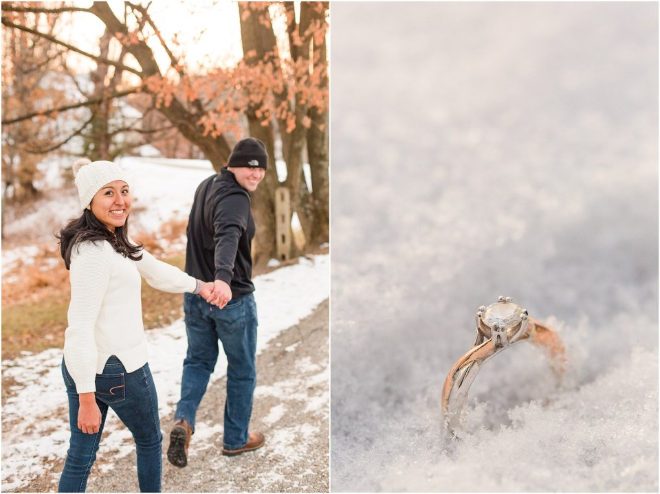 Brad & Mary's Snowy Winter Engagement at Valley Forge Park in Wayne, PA_0022.jpg