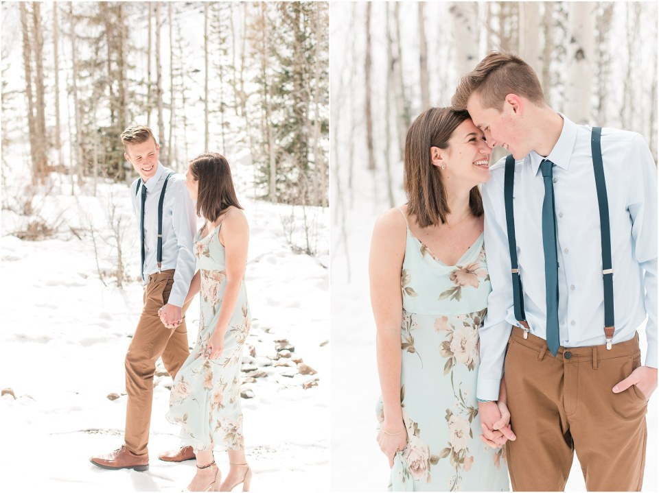 Matt & Chrissy's Springtime Couples Session in Keystone, Colorado_0008.jpg