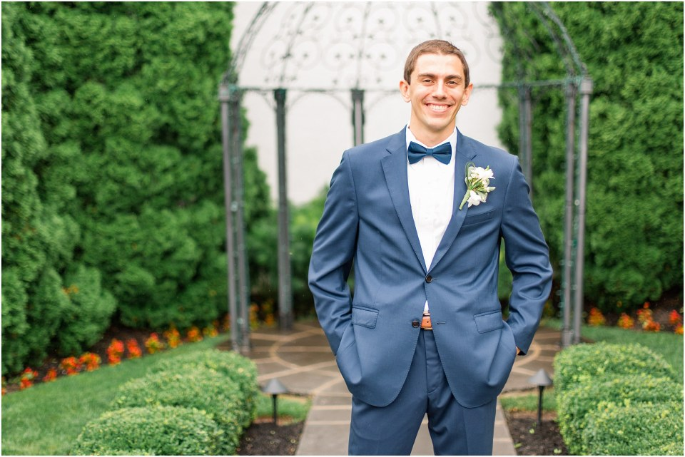 A Navy & Blush Wedding at The William Penn Inn Photos,