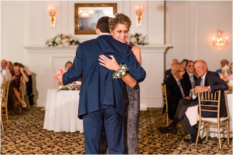 A Navy & Blush Wedding at The William Penn Inn Photos,