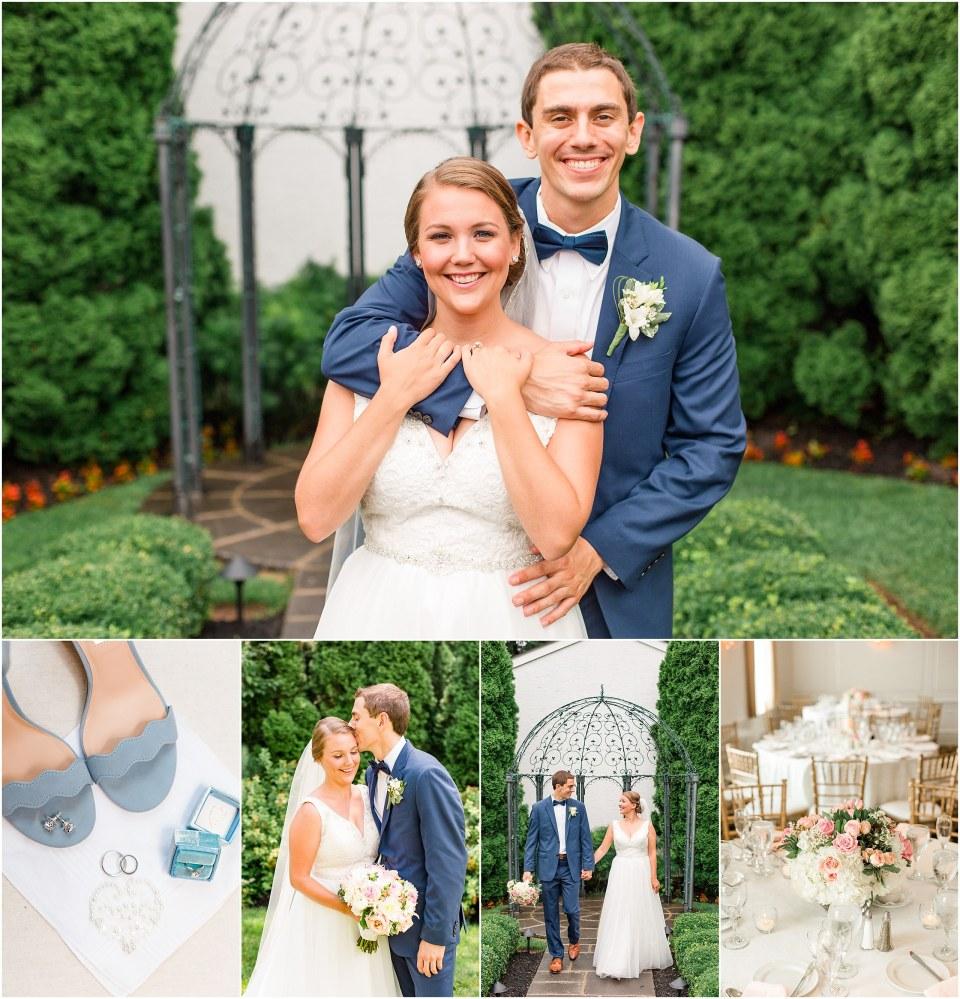 Jackson Emily S Navy Blush Wedding At The William Penn Inn