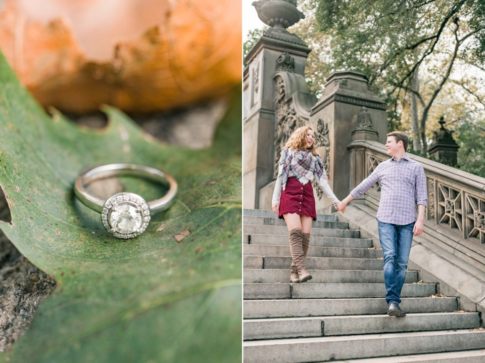 Noah & Cailtin's Central Park Engagement in New York City