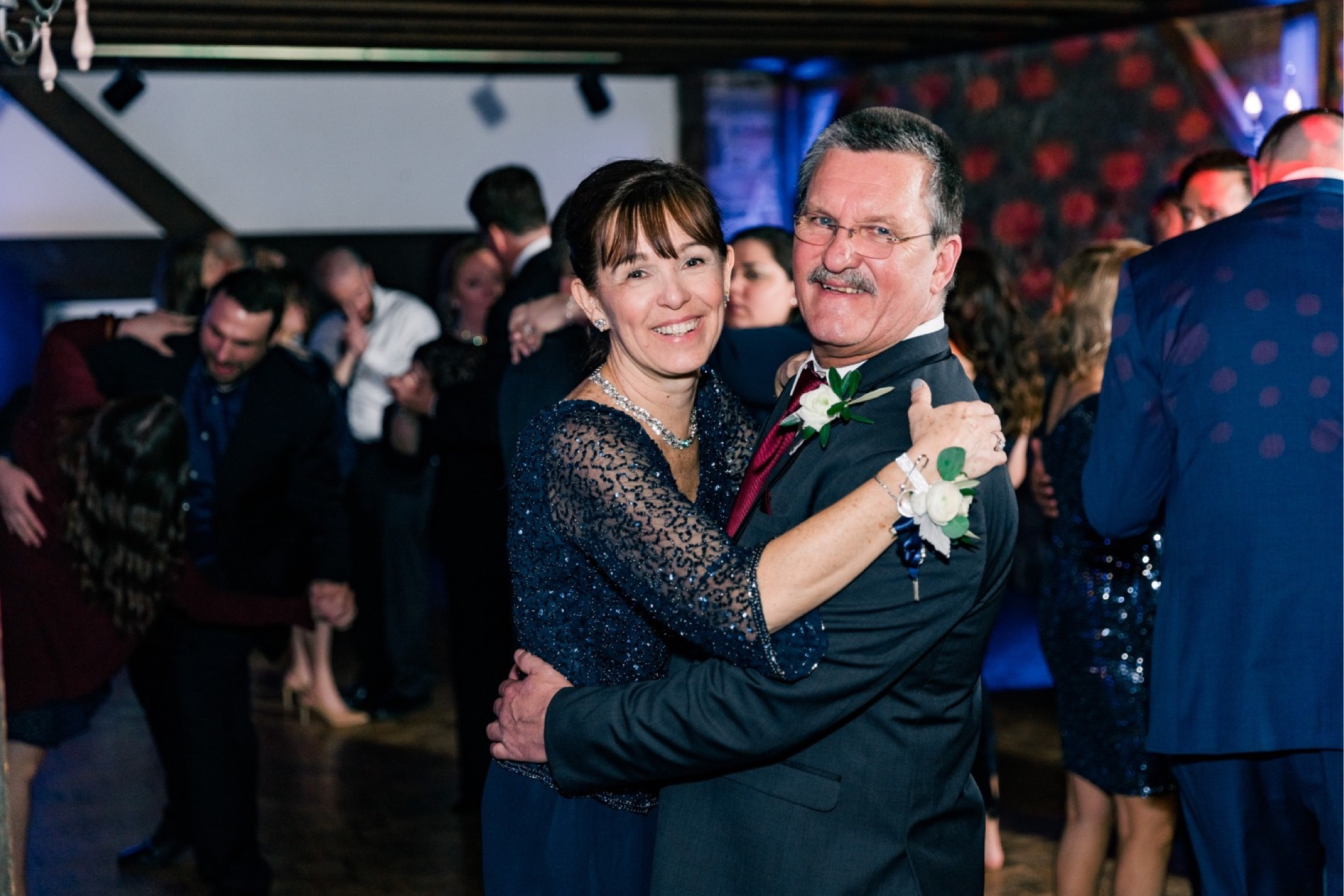 Steve & Casi Winter Wedding at The Barn on Bridge in Collegeville, PA Photos