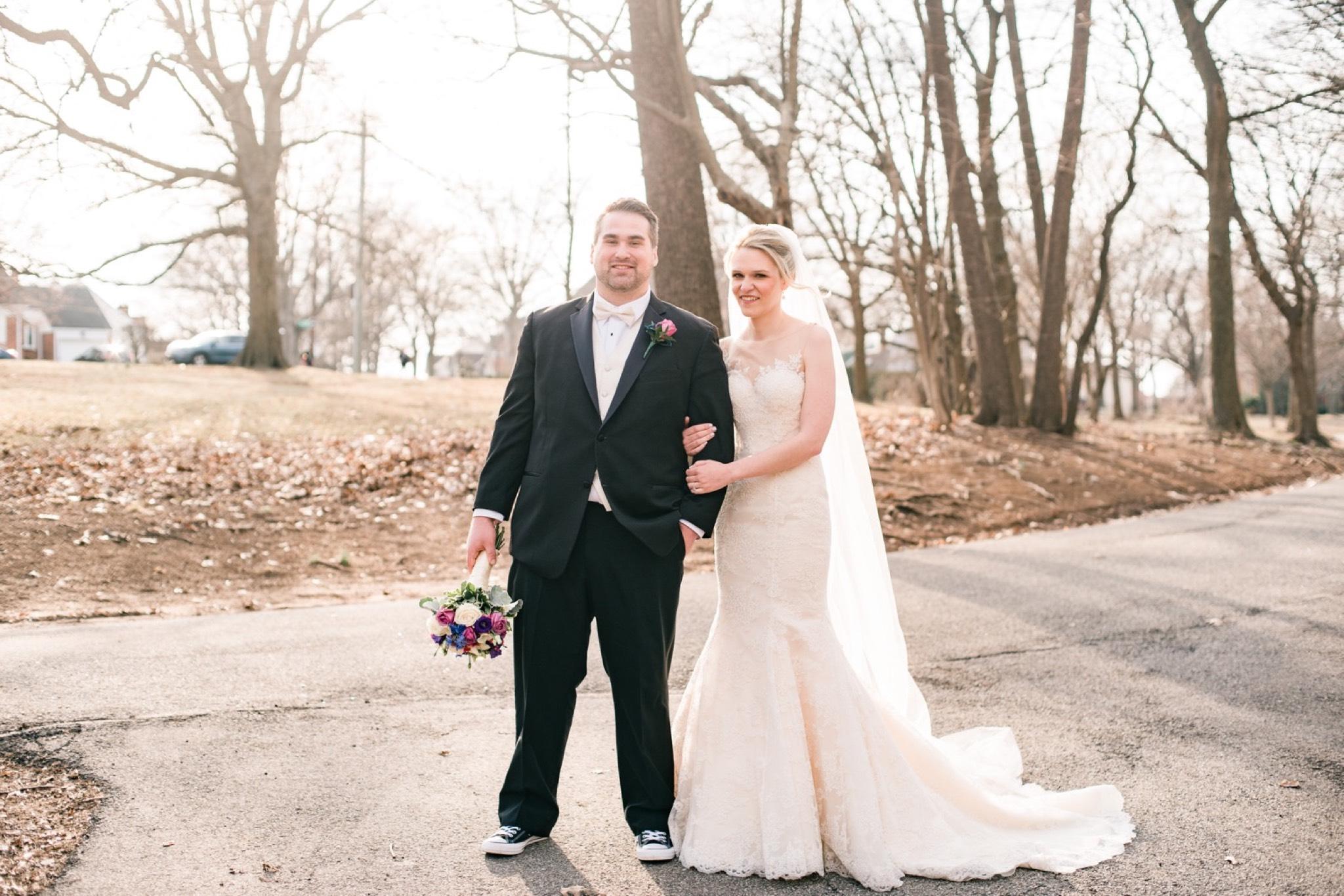 Newlyweds Staten Island Wedding