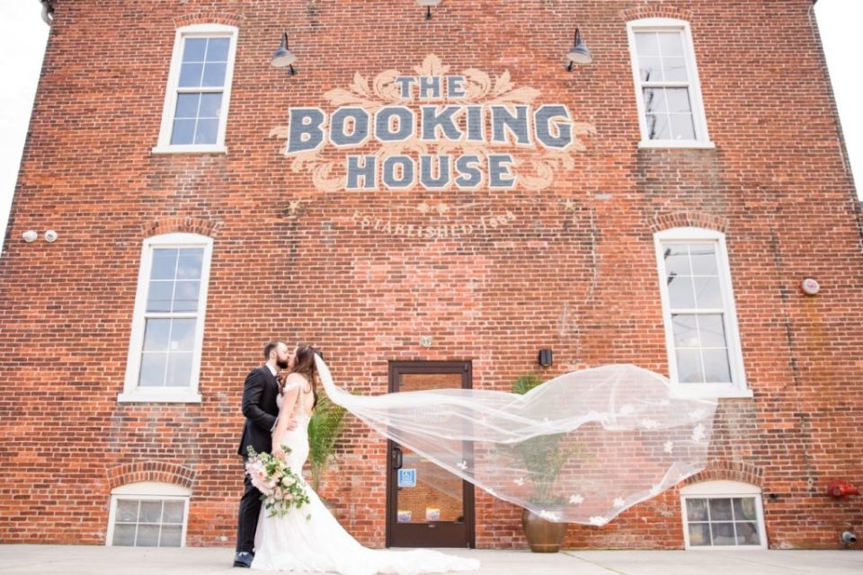 The Booking House Veil Shot
