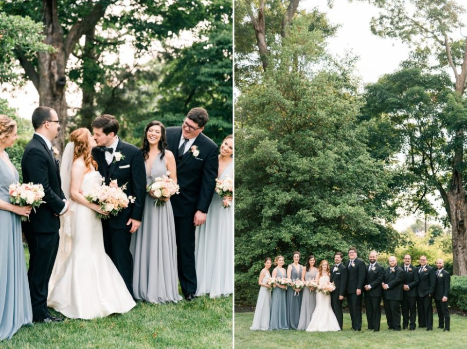 Bridal Party - Knowlton Mansion