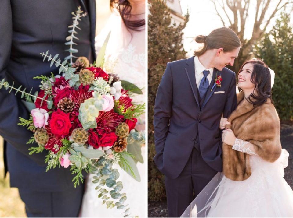 Winter Wedding At Normandy Farm