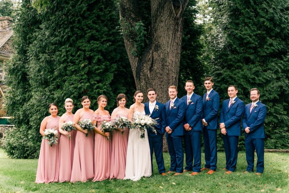 Bridal Party at Anthony Wayne House Photos