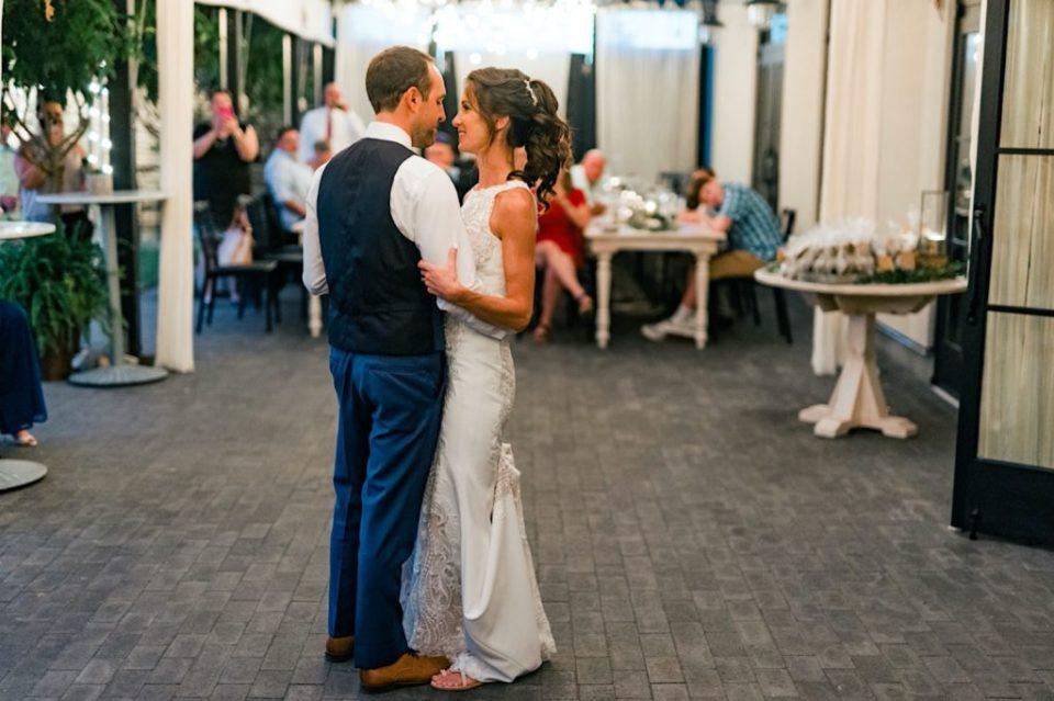 First Dance Terrain Gardens Micro Wedding Photos