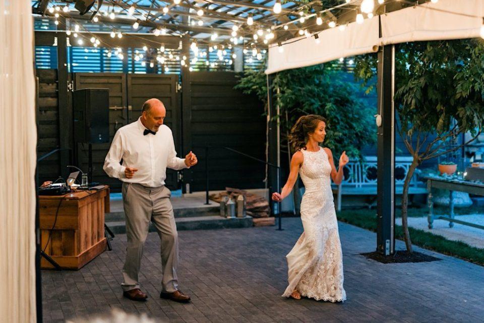 Parent Dance Terrain Gardens Micro Wedding Photos