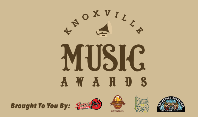 "Knoxville Music Awards – We Won ""Best Funk-Rock"" EP!"