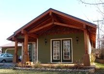 Modern Craftsman Style House