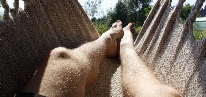 Resting on my workaway in Austria