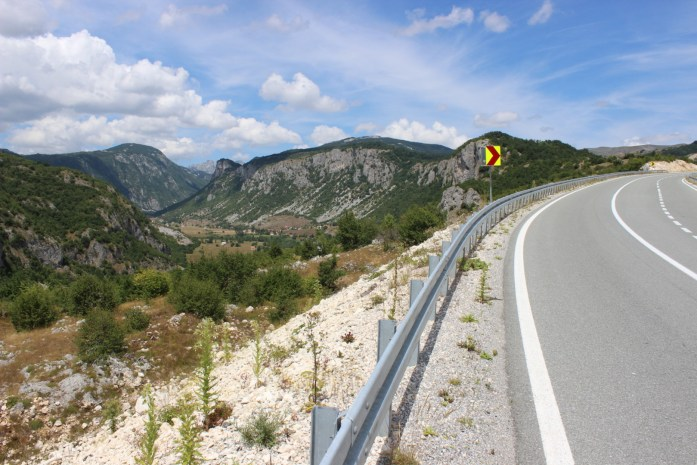 Bike touring adventure in steep but beautiful mountains of Montenegro.