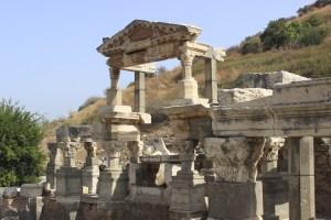 Ancient Ephesus in Western Turkey holds lots of impressive ruins.