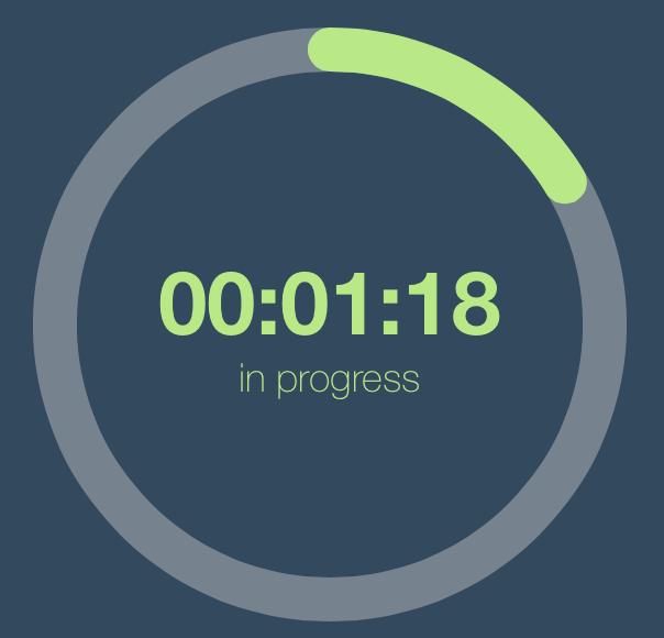 Basics of building a circular progress view | Josias Sena