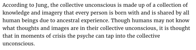 carl jung, collective unconscious