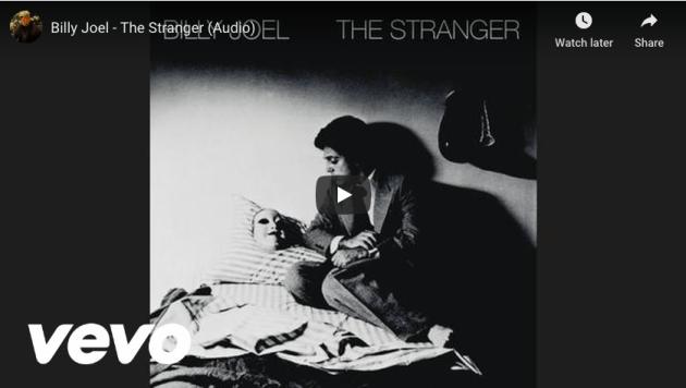 billy joel, the stranger, persona, mask
