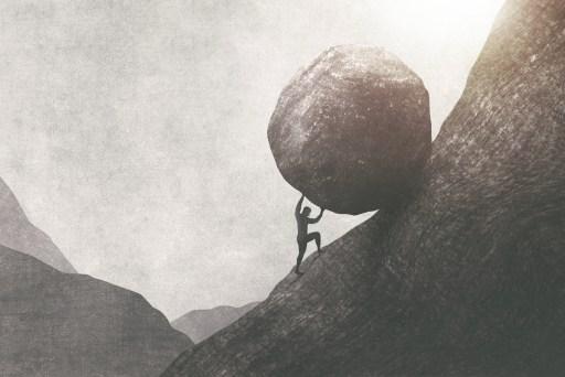 expectations, sisyphus, failure, achievement