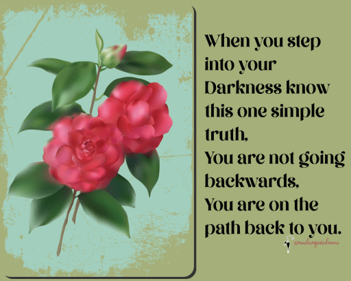 darkness, inner wisdom, finding yourself, move forward