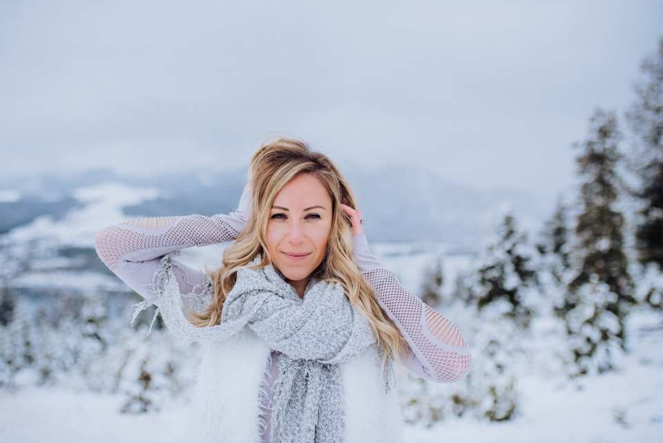 Winter Personal Branding Photoshoot | Josie V Photography