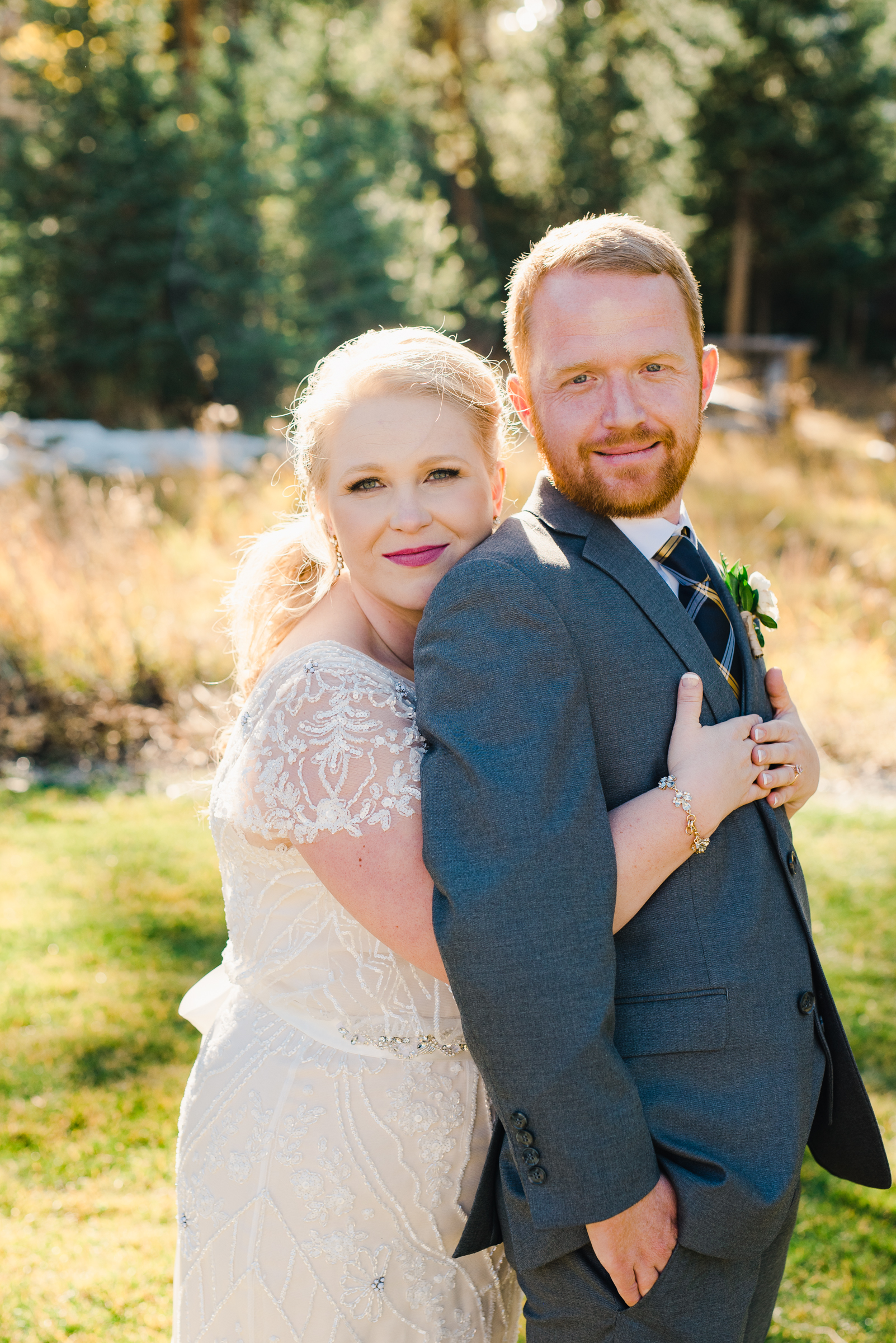Romantic Colorado Fall Wedding | Josie V Photography