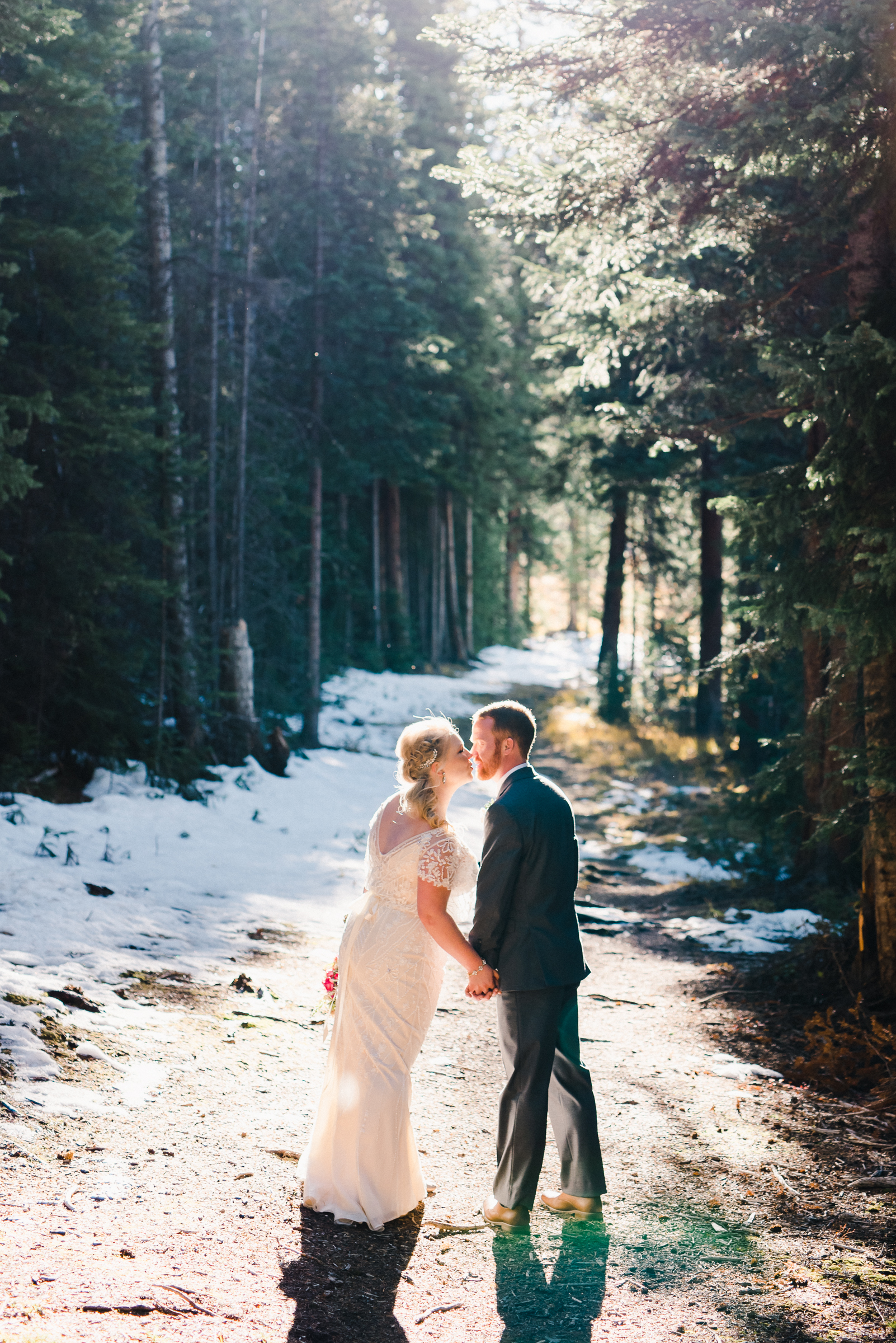 Fall Mountain Wedding | Josie V Photography