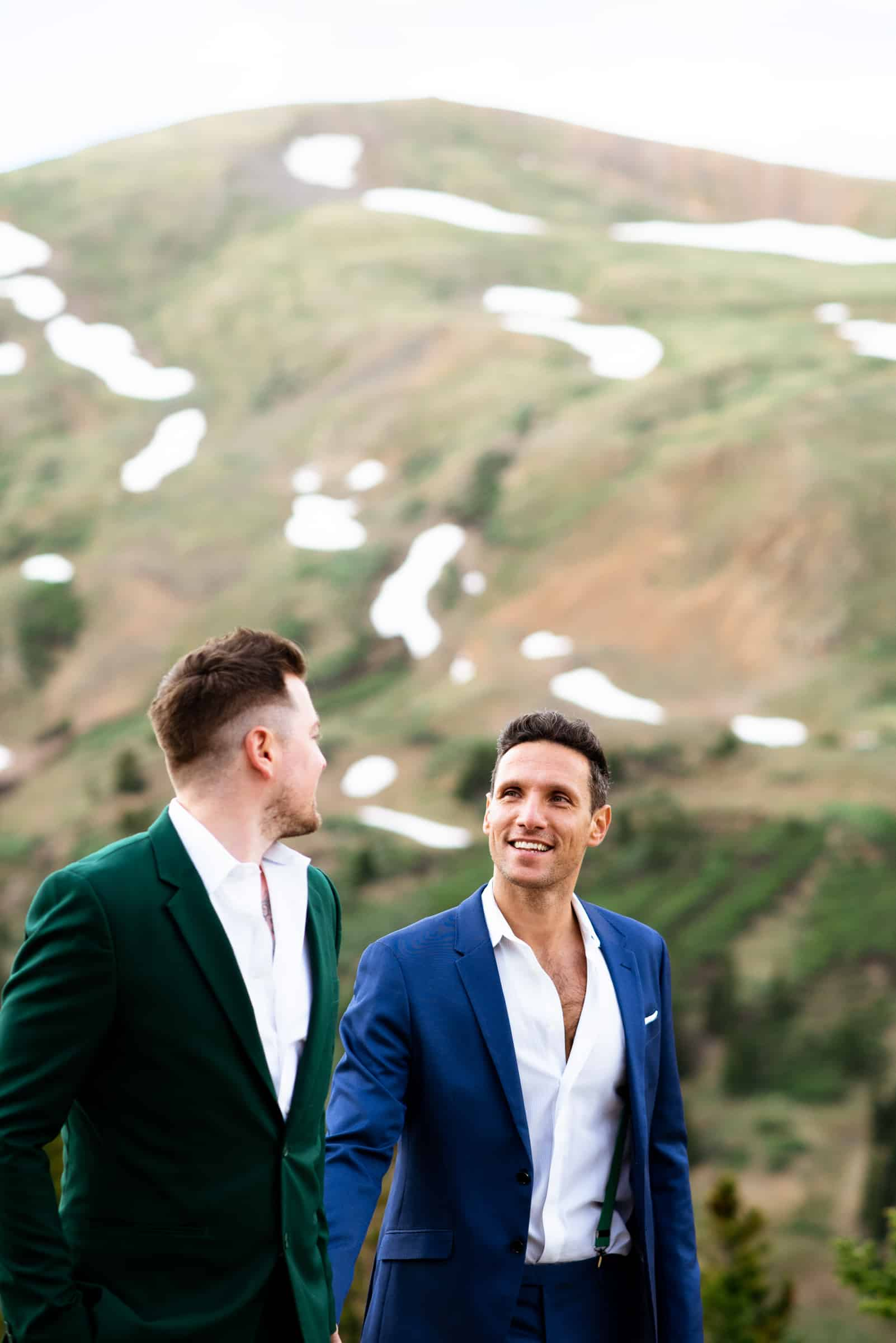 Gay Colorado Elopement | Josie V Photography