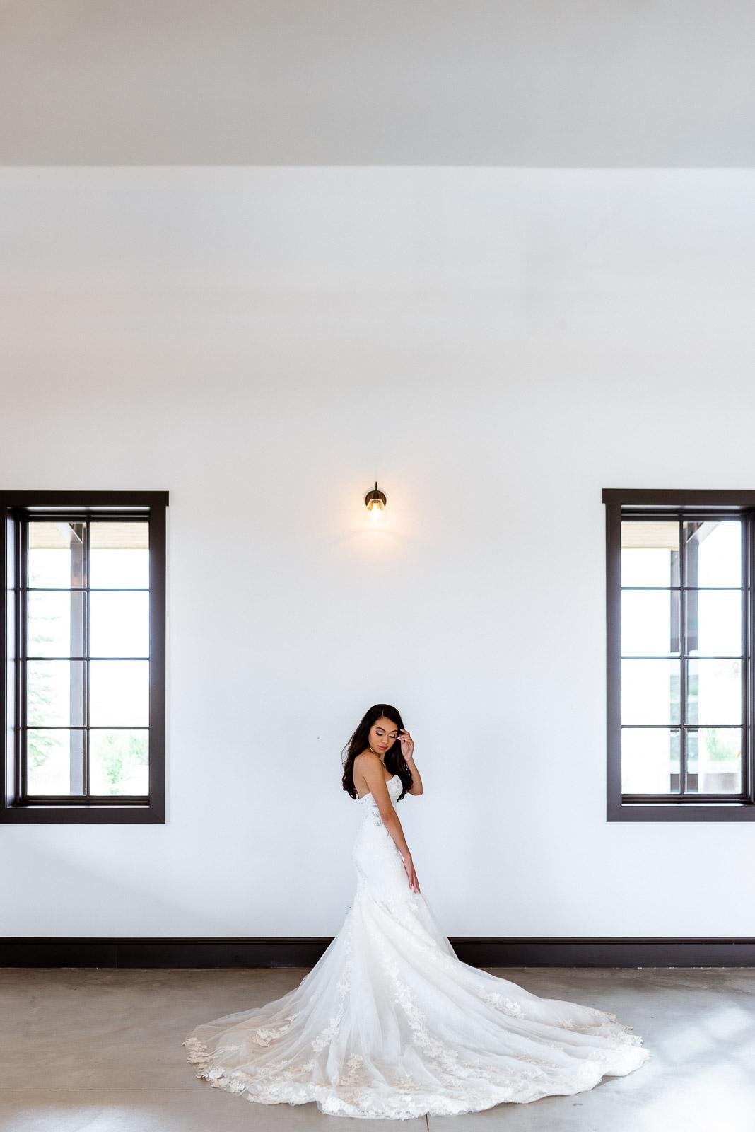 Elegant Wedding Dress | Josie V Photography