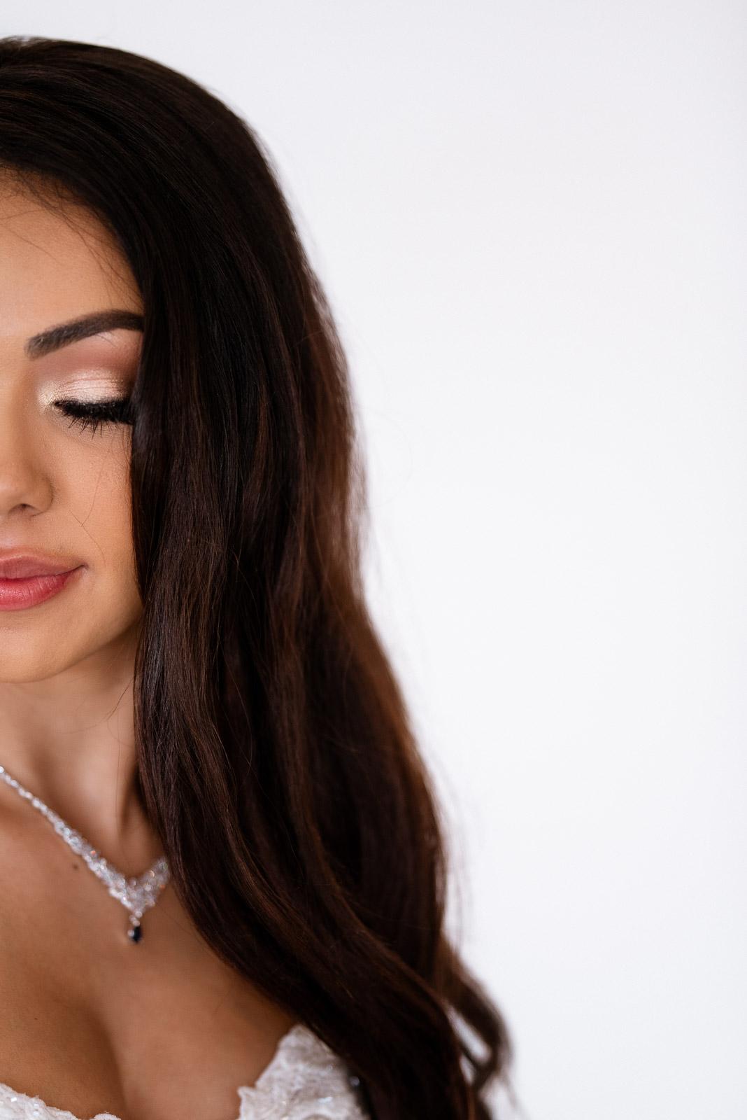 Elegant Bridal Makeup | Josie V Photography