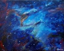 Eagle nebula, 40x50 cm