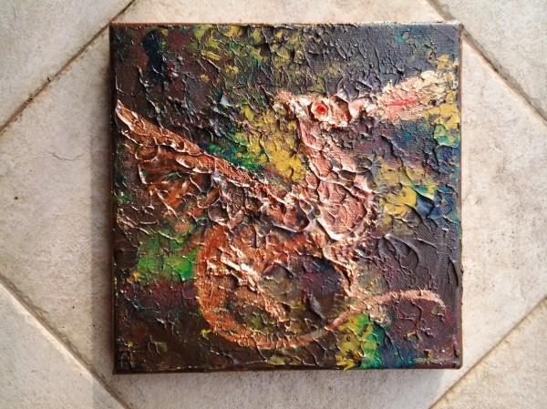 Acrylic Dragon Painting