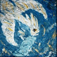 Air dragon, 20x20 cm