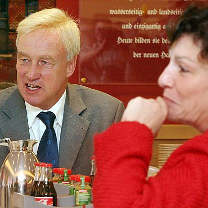 Hamburg mayor Ole von Beust, a Christian Democrat, has found \