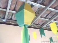 Balão de festa junina