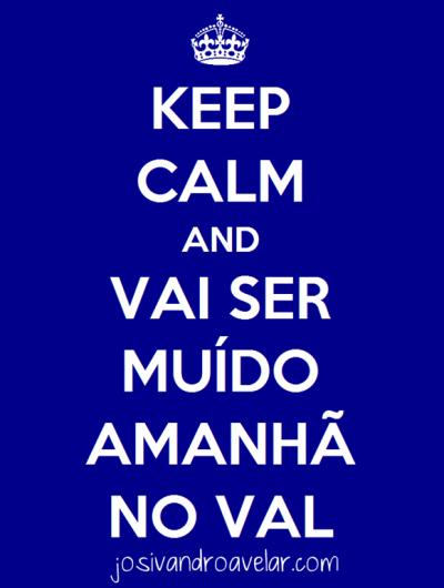 keep calm val