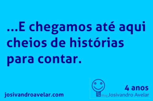 blog josivandro avelar- 4 anos 2