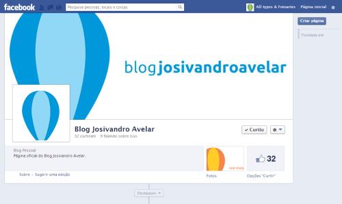 Facebook Blog Josivandro Avelar- Maio de 2013