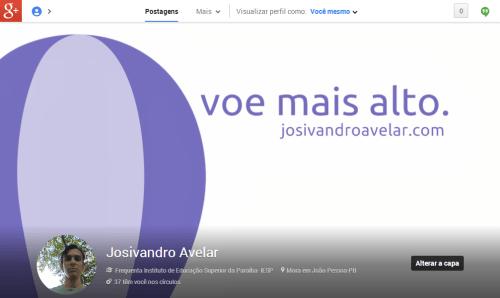 Google  Josivandro Avelar- maio de 2013