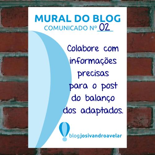 mural do blog comunicado 2
