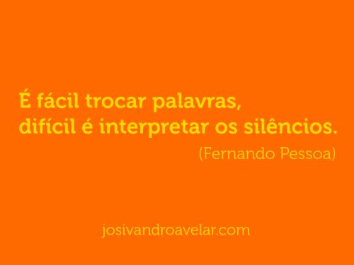 palavras e silêncios