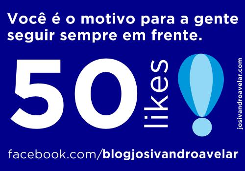 50 likes- blog josivandro avelar